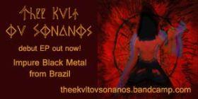 Thee Kvlt ov SonanoS - Debut EP - Listen on bandcamp.